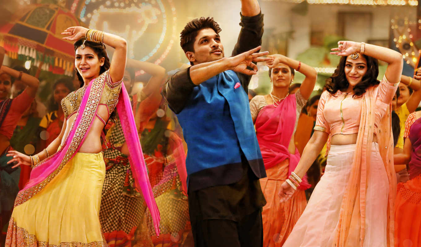 allu, satyamurthy, arjun, песнь, samantha, супер, machi, video, full, nithya,