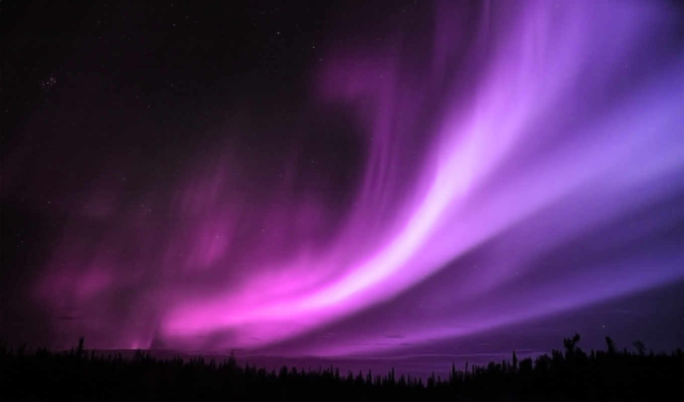 aurora, ecran, borealis, high, fonds, widescreen, definition, purple,