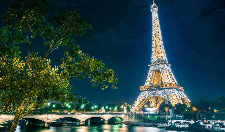 ,париж,башня,эйфелева,мост,