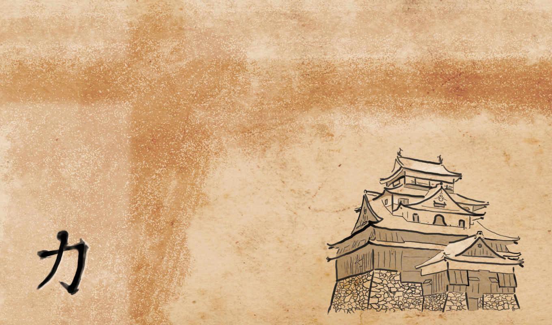 япония, рисунок, форт, пагода, картинка, храм, иероглиф, минимализм, iphone, японский, синтоизм, тории, стиль,