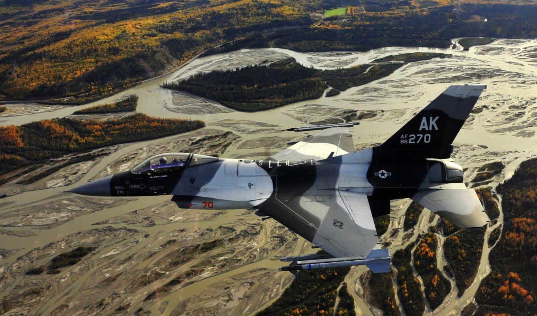 самолёт, полет, земля, высота, military, widescreen, inch,