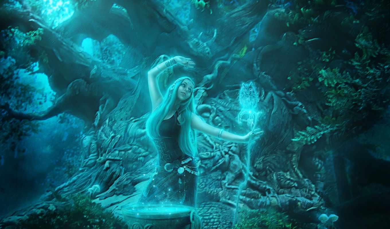 fantasy, магия, изображение, free, girls, пряжа, desktop,