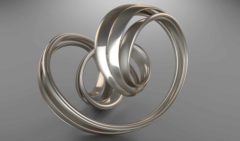 swirl, silver, wallse,