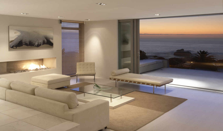 море, люкс, комната, океан, пейзаж, квартира, интерьер, vacation, luxury,