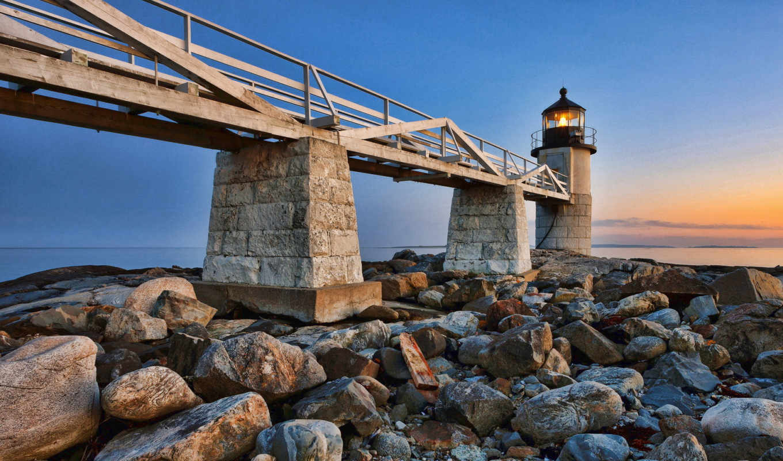 croton, építmények, lighthouse, imágenes, clyde, pantalla, мост, new,