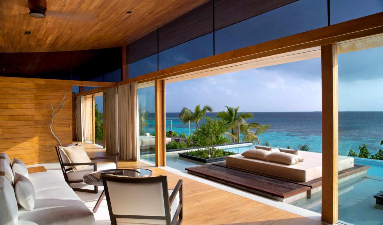 мальдивах, острове, coco, частном, отель, вилл, хити, куда, privé, шесть, каждая,