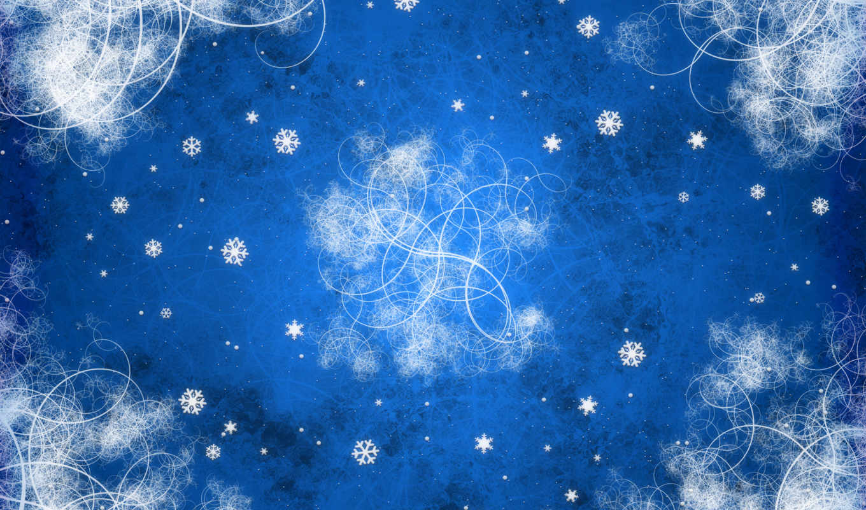 pantalla, fondo, nieve, fondos, para, gratis, copo, azul, copos,
