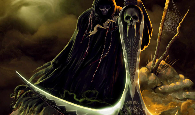 фэнтези графика женщина Grim Reaper  № 3256176 бесплатно