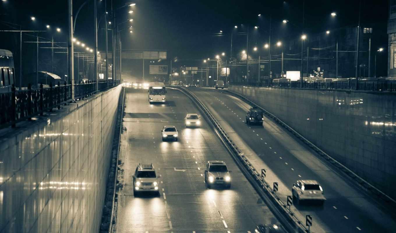 алматы, город, дорога, машины, фонари, изображения, автомобили,