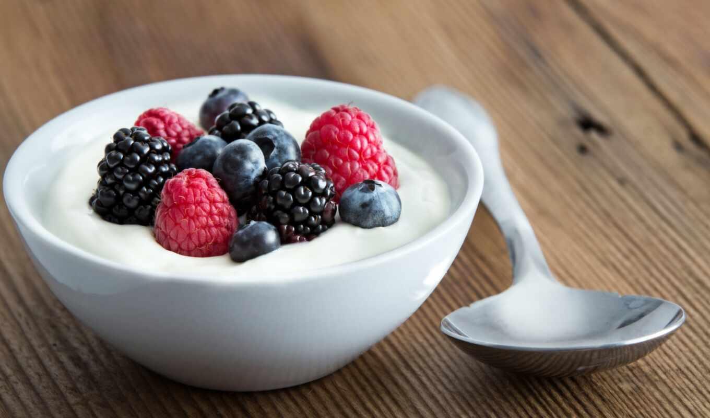 ягода, yogurt, useful