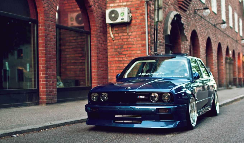 bmw, stance, car, blue, desktop,