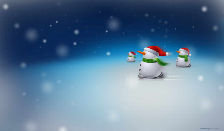 новогодние, new, год, снеговики, фотографий, телефон, заставки, скоро, эксклюзивные,