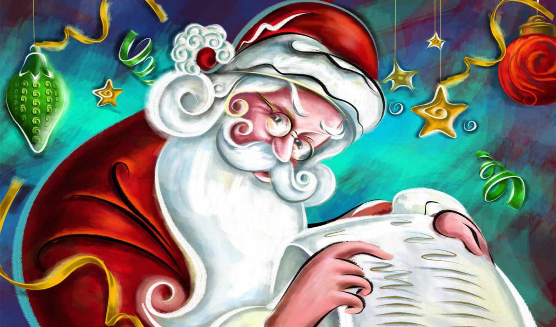 новый, год, детей, список, хороших, мороз, дед, santa, christmas, claus, клаус, письмом, free,