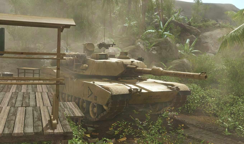 танк, танки, армия, абрамс, кустах, рисованные, тяжёлый,