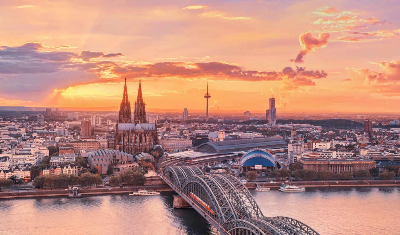 красивые, город, германия, города, daily, только, заставки, городов, небо, мира,