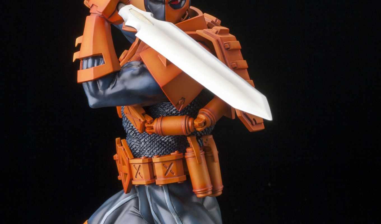 deathstroke, kotobukiya, artfx, статуя, comics, new, have,