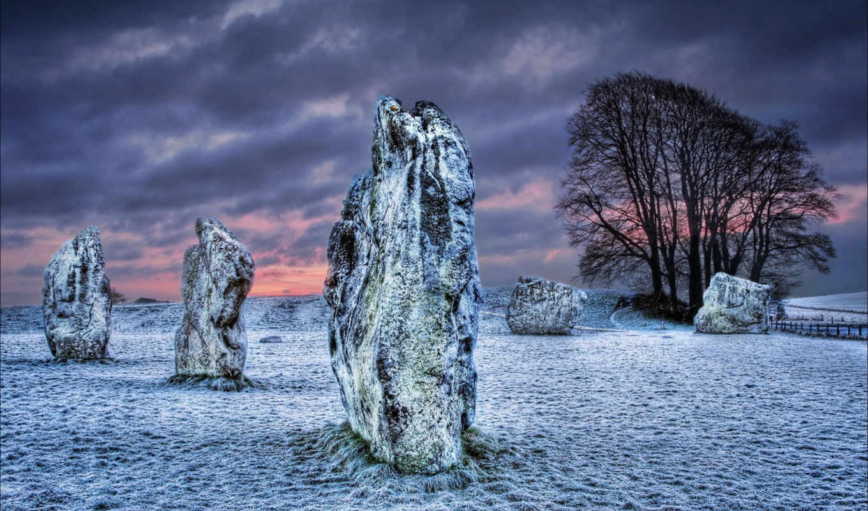 desktop, pole, камни, best, великобритания, эйвбери, уилтшир, графство,