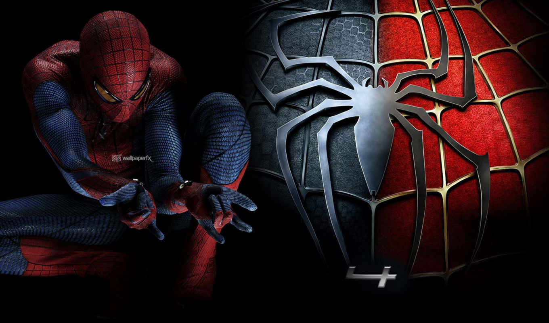 паук, мужчина, spiderman, full,