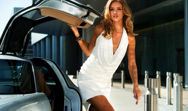 huntington, rosie, whiteley, хантингтон, рози, transformers, уайтли, платье, модель, девушка, авто,