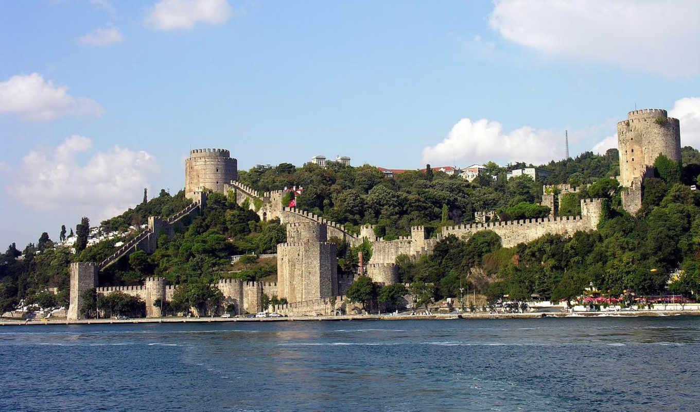 rumeli, istanbul, hisari, fortress, hisarı, от, турции,