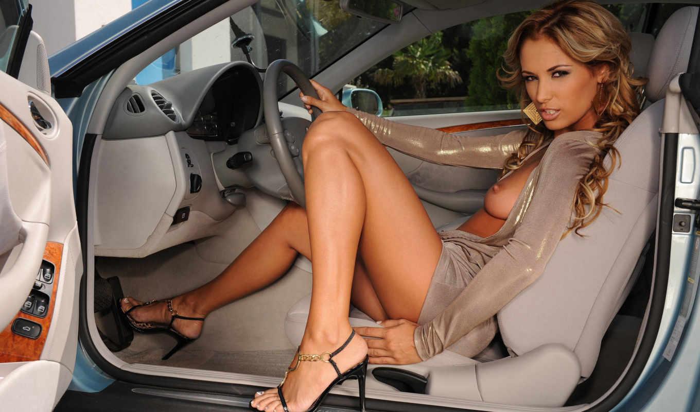 девушки, авто, красивых, автомобили,