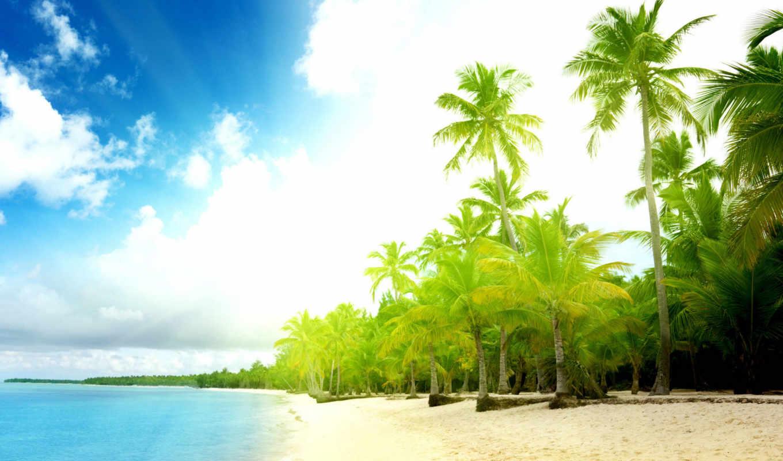 море, sun, пляж, песок, summer, волны, water, берег, ocean, небо,