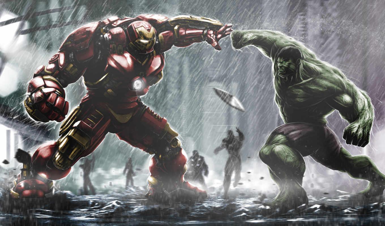 avengers, hulk, мужчина, hulkbuster, iron, герой, stark, tony, bruce, age, ultron,