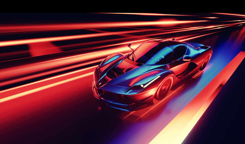 ferrari, race, pantalla, car, fondo, luxury