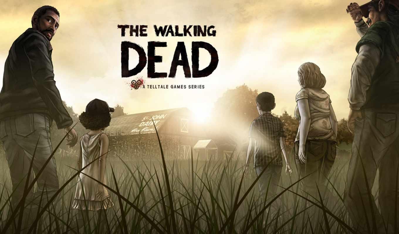 dead, walking, game, ходячие, мертвецы,