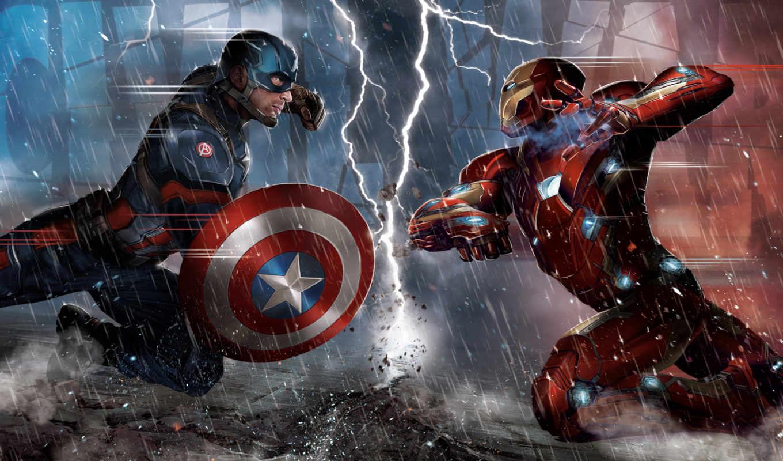 captain, america, civil, war, marvel, trailer,