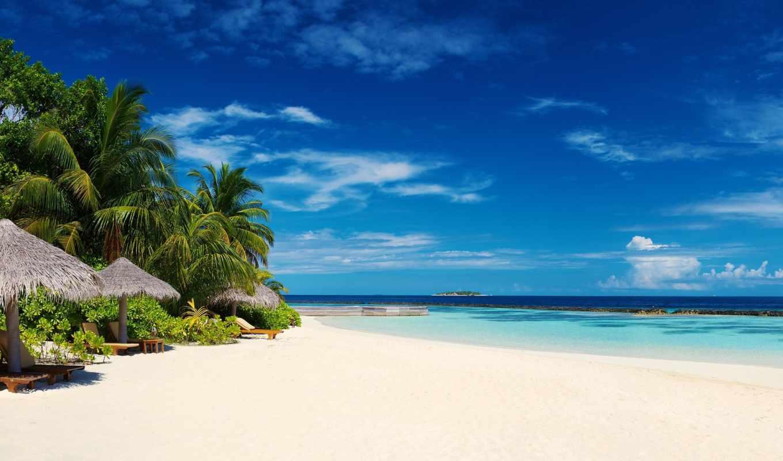 hdr, пейзажи, мальдивы, море, пальмы, природа, острова, побережье, beaches, мальдивские, landscapes, небо, photography, palm, trees, фотографии, skies, tropical, бе,