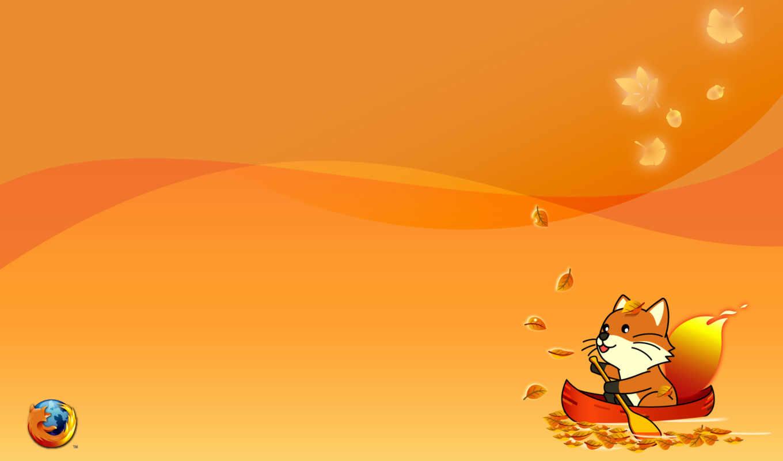 фокс, firefox, браузер, mozilla, оранжевый,