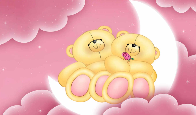teddy, love, медведь, bears, cute, навсегда,