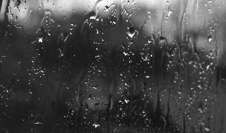 стекло, дождь, капли, картинка, смотрите, текстуры,