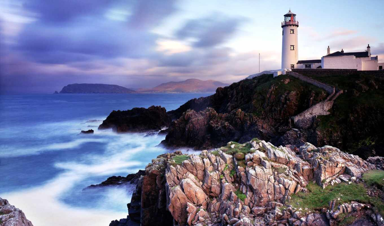 wallpaper, lighthouse, and, wallpapers, travel, ireland, destinations, wallcoo, landmarks, resimleri, donegal, vol, manzara, attractions, fenerleri, cultural, tourist, geography, deniz, net, fanad, he