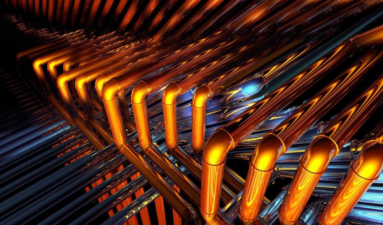 светлый, блеск, соединение, металл, pipes,