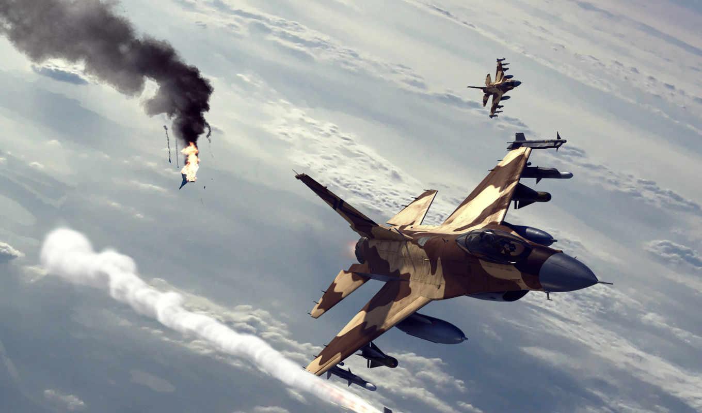 небо, ракета, бой, fox, истребитель, картинка, авиация, воздушный, самолеты, battle, реал, боротьба, реальна, воздушного, подборка, боя,
