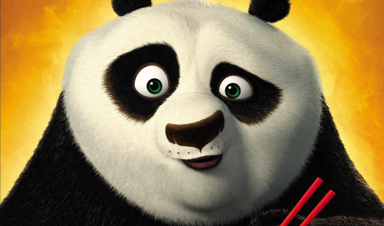 панда, кунг, неистовой, секреты, Кунг-фу,