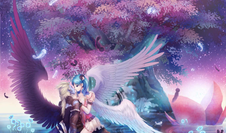 anime, фэнтези, love,