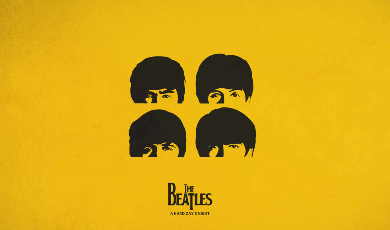 beatles, желтый, битлз, обложка, картинка, iphone,