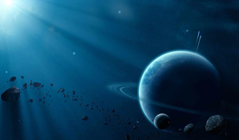 космос, планеты, свет, планета, картинка, картинку, астероиды, iphone,