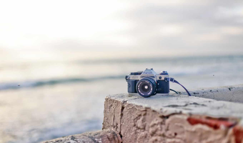 фотоаппарат, tech, пляж, canon, настроение,