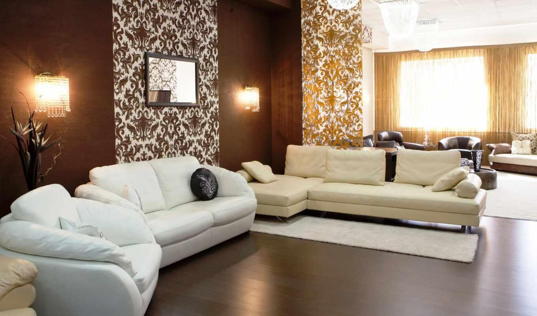 гостиной, living, design, февр, color, бежевый, интерьере, стиль,