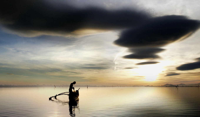 best, лодка, mixed, рыбак, озеро, природа, столик, бокалы, trance,