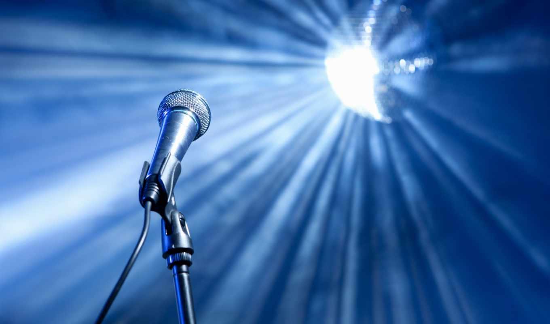 микрофон, зеркало, июня, stock, красивый, против, stage, mic,