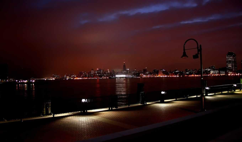 ночь, город, нью, york, города, море, москва, огни, browse,