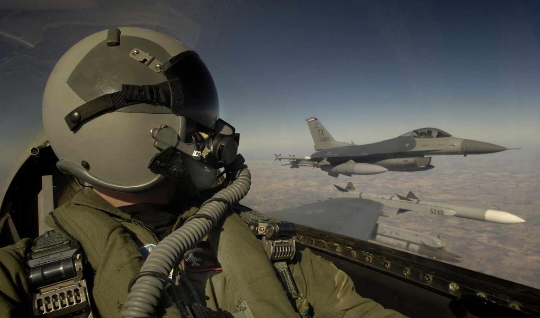 истребитель, мести, пилот, кабины, ракета, истребителя, бомба, f-16