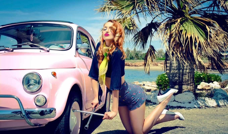 девушка, ретро, vintage, girls, тема, pin,