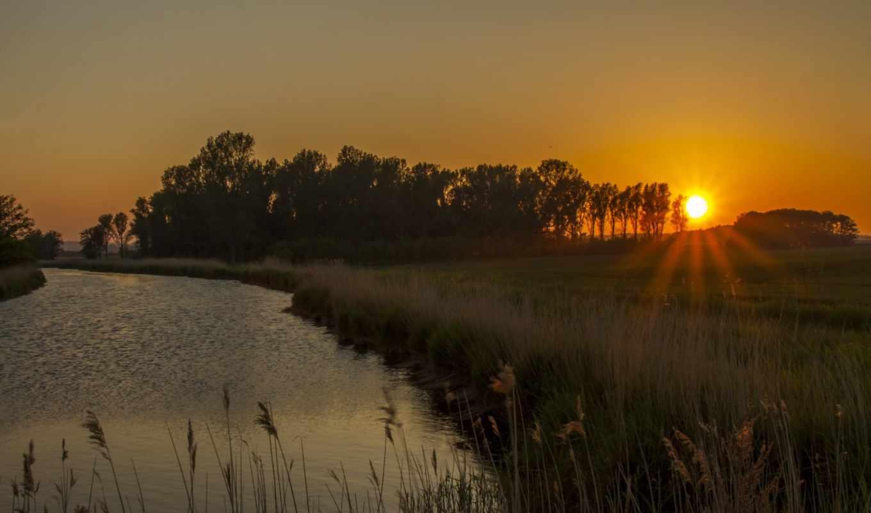 природа, картинка, закаты, рассветы, rays, sveta, sun,