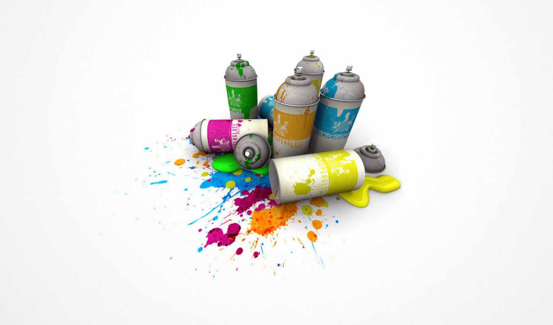گرافیک, tapeta, desktop, рисованное, краской, color, тюбики, футболки, spray,